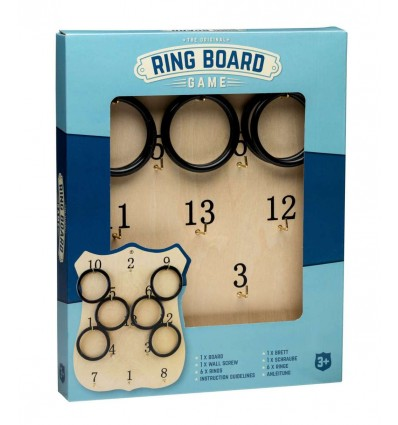 Wooden Ring Board Game