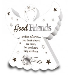 Good Friends Angel Plaque