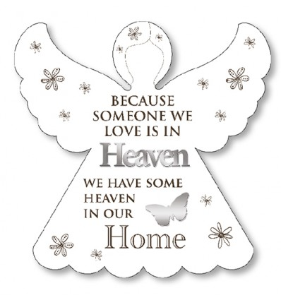 Someone we love is in Heaven Angel Plaque
