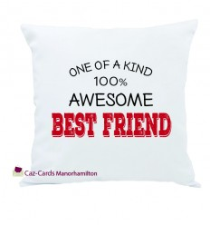 You're 100% Awesome Personalised Cushion