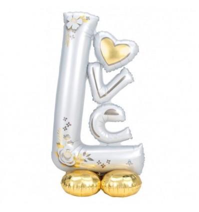 """LOVE Balloon - 4ft 7"""" tall"""