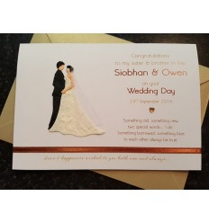 Wedding Personlaised Card - 4