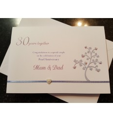 Anniversary Personalised Card - 1
