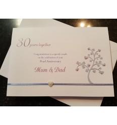 Anniversary Personlaised Card - 1