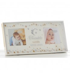 Baby Twinkle Double Photo Frame