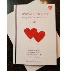 Valentine's Day Personalised Card - 1