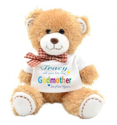 Godmother Teddy Bear from boy