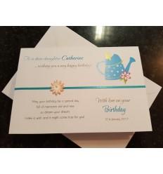 Birthday Personalised Card - 1
