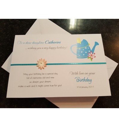 Birthday Personalised Card - 1