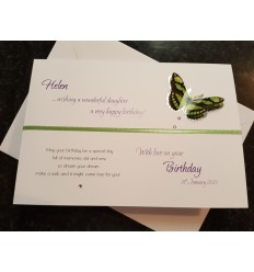 Birthday Personalised Card - 2