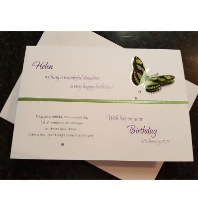 Birthday Personalised Card - 2