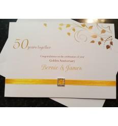 Anniversary Personalised Card - 3