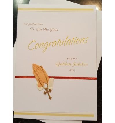 Jubilee Personalised Card - 2