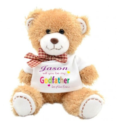 Godfather Teddy Bear from girl