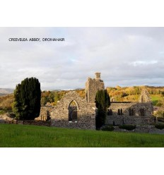 Creevelea Abbey blank card