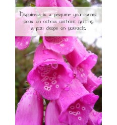 Sentiment Card - Happiness is a perfume ...