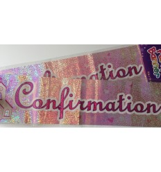 Confirmation Banner - pink