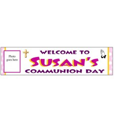 Communion Girl Banner