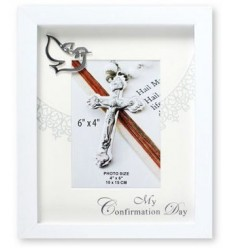 CONFIRMATION Day White Frame