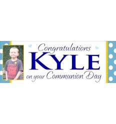 Communion Banner Personalised