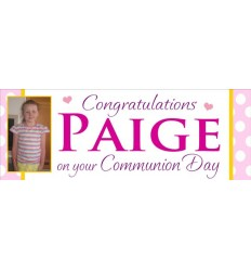 Communion Banner - Personalised