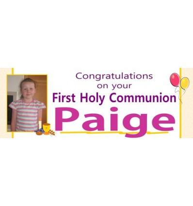 Communion Banner - Personalised