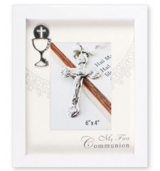 Communion Day White Frame