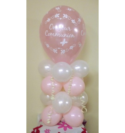 Balloon Column First Communion