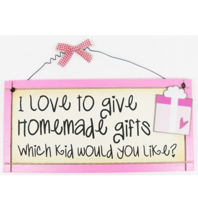 Homemade Gifts Wooden Plaque