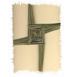 Handcrafted St. Brigid's Cross