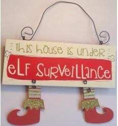 Elf Surveillance Plaque